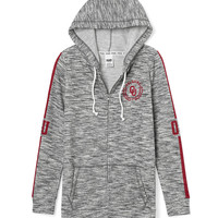 University of Oklahoma Full-Zip Tunic Hoodie