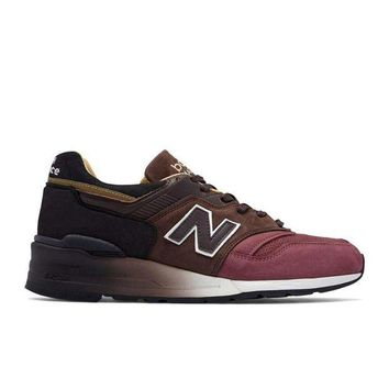 DCCK1IN new balance m997dwb home plate pack limited edition red brown