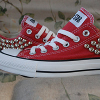 Studded Low Top Converses