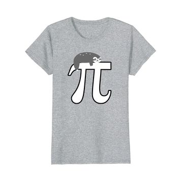 Pi Day 2018 Shirt Men Women Kids Math Lover Sloth Nerd Gift