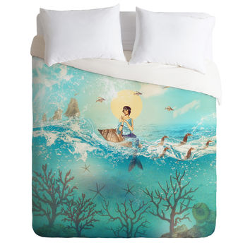 Belle13 The Queen Mermaid Duvet Cover