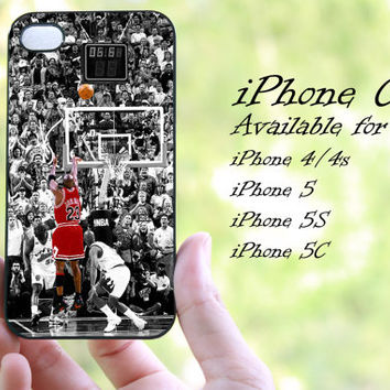 jordan basketball NBA design 02 iphone case for iphone 4 case, iphone 4s case, iphone 5 case, iphone 5s case, iphone 5c case