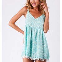 Blue Banana Playsuit - Stelly