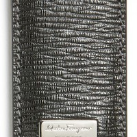 Men's Salvatore Ferragamo Stamped Calf Magnetic Money Clip
