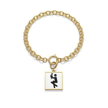 Me and my Daughter Chunky Chain Bracelet,gift for daughter, birthday gift, valentines day,charm