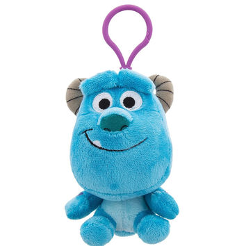 Disney Parks Sulley Big Face Plush Keychain New with Tags