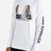 Byproduct Los Angeles Long-Sleeve Tee- White