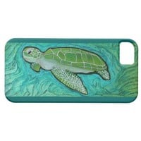 Green Sea Turtle IPhone 5 Case from Zazzle.com