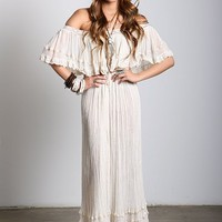 Sheer Senorita Bonita Maxi Dress
