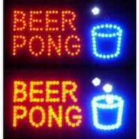 Beer Pong LED Sign