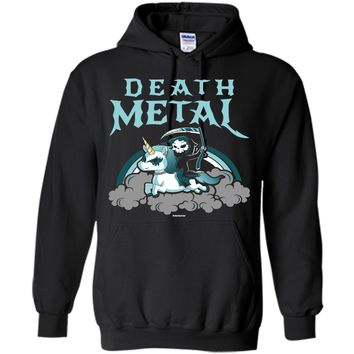 Unicorn Death Metal Rocker Go To Hell Shirt