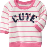 Applique Sweatshirts for Baby