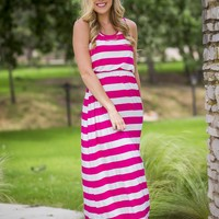 Step By Step Dress - Fuschia | Dresses | Kiki LaRue