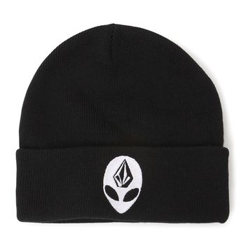 Volcom Alien Beanie - Womens Hat - Black - One
