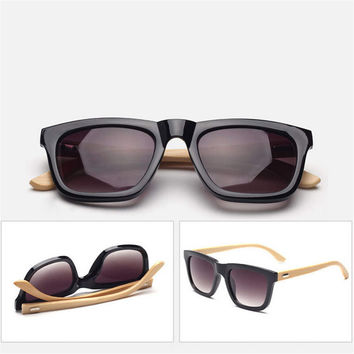Hand Made Wayfarer Sunglasses Bamboo Wood Temples 04