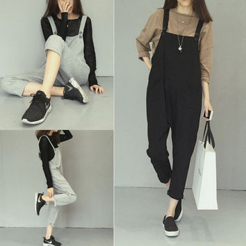 Retro Womens Braces Pants One Piece Gift 81