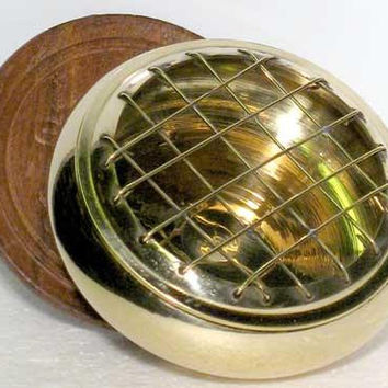 Brass Screen Incense Burner 3""
