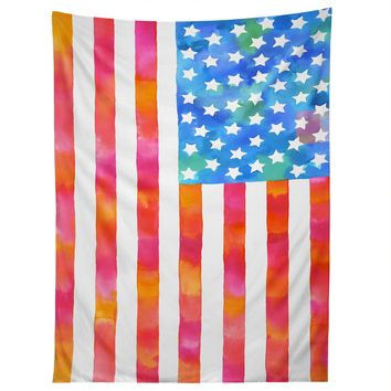 Betsy Olmsted Old Glory Patriot Tapestry