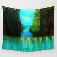 Enchanted Wall Tapestry by Jenartanddesign