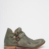 Free People Olive Breaburn Double Buckle Ankle Boots at asos.com