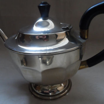 Antique silver plated tea set - circa 1910 - Sheffield - 3 piece