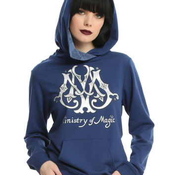 Harry Potter Ministry Of Magic Girls Cowl Neck Hoodie