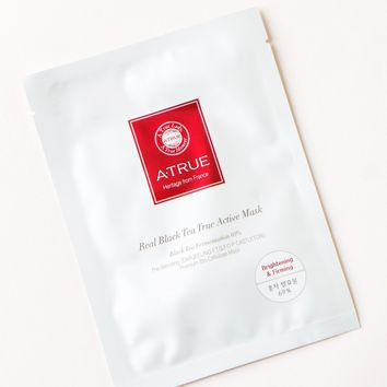 Atrue Real Black Tea True Active Mask – Soko Glam