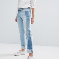 Hilfiger Denim Contrast Panel Straight Leg Jean at asos.com