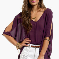 Batty Chiffon Top $29