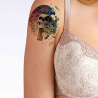 Fear Cuts Deeper Than Swords temporary tattoo, Fashion Tattoo,Fake Tattoo,Tattoo Design