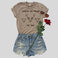 Animals are Friends T-Shirt