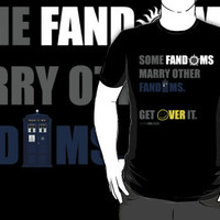 Some Fandoms Marry Other Fandoms - SuperWhoLock T-Shirts & Hoodies