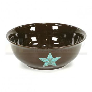 Soup Bowl - Star Turquoise