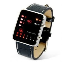 Fashion Japanese Multicolor LED Watch