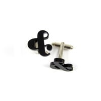 Ampersand Cufflinks - Paper Trail