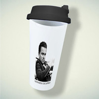 Leonardo Dicaprio For Double Wall Plastic Mug ***