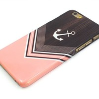 Sky2light,latest Design Iphone 6 Case,new Iphone 6 Cover,pink Wood Chevron Image 4.7 Inch Iphone 6,new Design Case