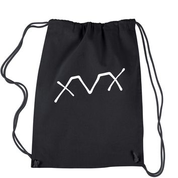 XVX Vegan Straightedge Drawstring Backpack