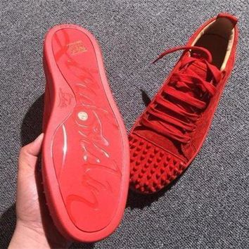 PEAPUX5 Cl Christian Louboutin Low Style #2061 Sneakers Fashion Shoes