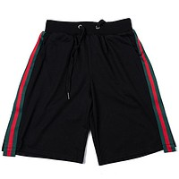 Gucci  Women Men Fashion Sport Drawstring Shorts