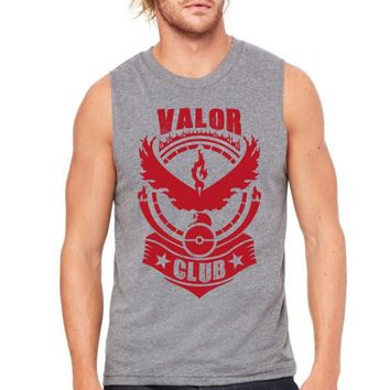 Pokemon Valor Club Muscle Tank