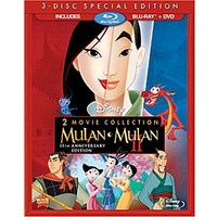 Mulan 15th Annniversary Blu-ray and DVD Combo Pack | Disney Store