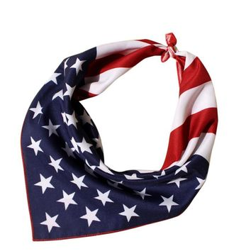 Fashion Bandana Scarf Square Head Scarf Women Men Bicycle Wraps Scarves Ladies Printed Kerchief Neck Scarf Bandanas Headwear