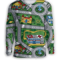 Car Carpet City Sweatshirt