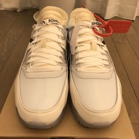 OFF-WHITE x THE 10: NIKE AIR MAX 90 SIZE 9