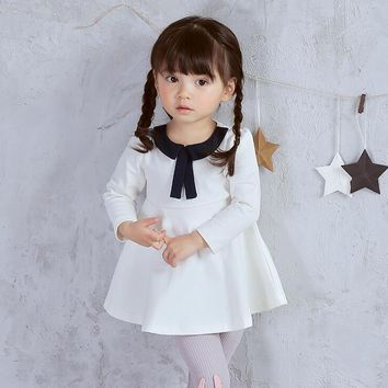 New 2017,Baby Girl Dress,Spring Autumn Clothing,Baby Girl Princess Dresses,Toddler Baby Girl Clothes,vestidos For 0-3 Year