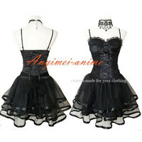 Free Shipping Gothic Lolita Punk Fashion Ballet Dress Cosplay Costume Tailor-made [CK1139] - $102.76 : Fond Cosplay