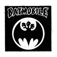 Batmobile Men's Batmosignal Cloth Patch Black