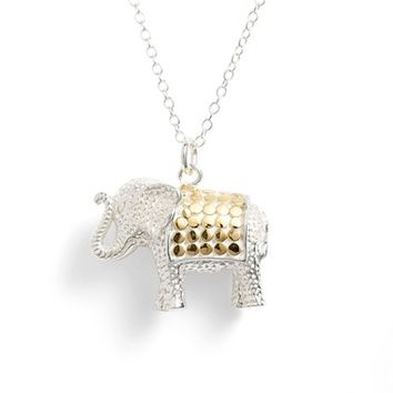 Anna Beck Elephant Pendant Necklace | Nordstrom