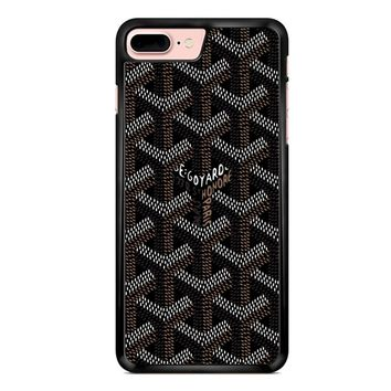 Goyard Black iPhone 7 Plus Case